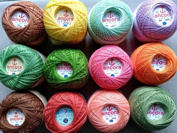 vendo novelos de linha de crochet Ancora