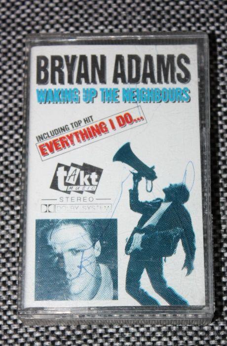 Kaseta magnetofonowa Bryan Adams - Waking up the neighbours