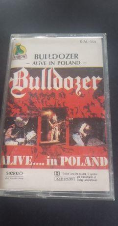 Bulldozer – Alive In Poland, 1990 KASETA MAGNETOFONOWA