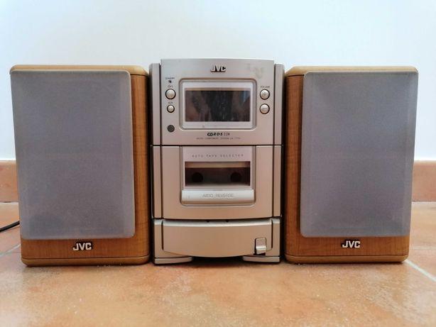 Vendo micro aparelhagem de som JVC muito estimada