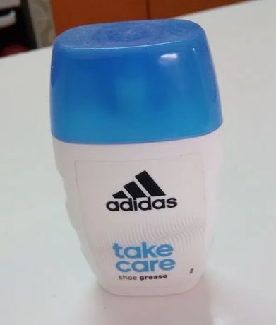 Creme Take Care Adidas para pele, sapatos, calçado desportivo