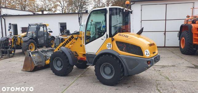 Liebherr L 508 507 506 509  Szybkozłącze Sprowadzona (Cat Volvo