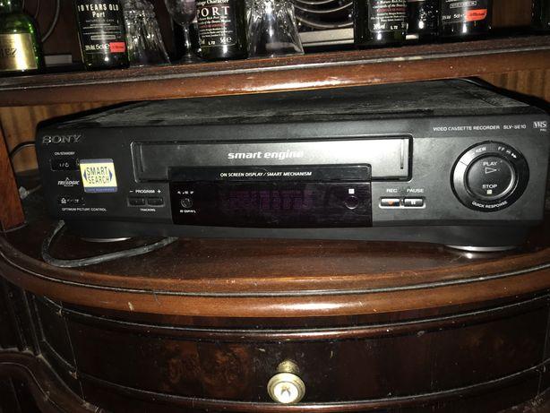 Leitor VHS Sony reliquia nova