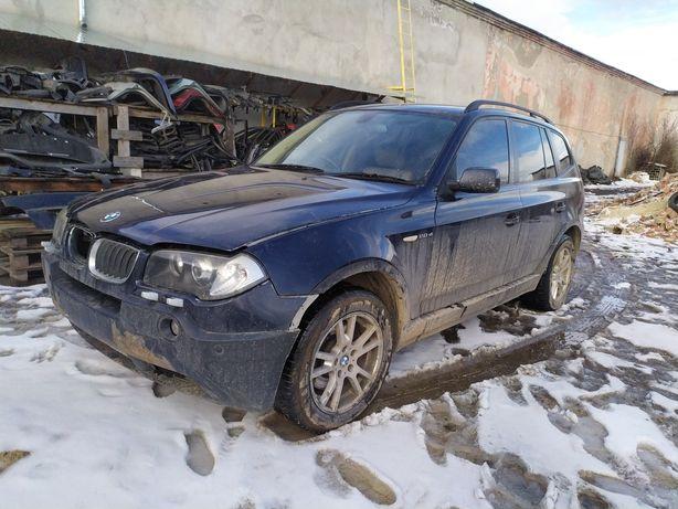 BMW X3 E83 LCI рестайлинг розборка M47N2