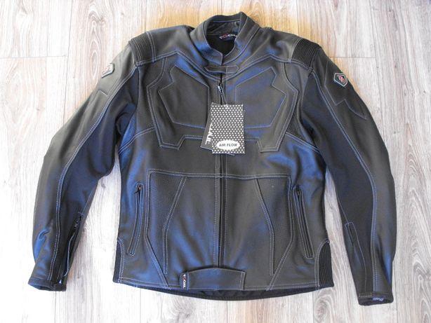 TSCHUL 850 (M/L) kurtka motocyklowa Skóra sportowa + kominiarka Gratis