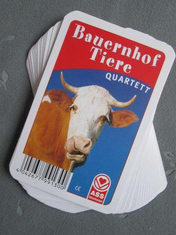 Набор 24 шт Карточки фото Сельхоз. животные Немецкий язык