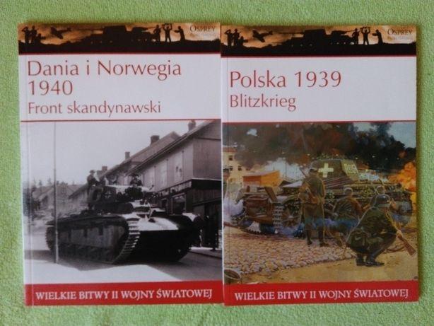 Książki historyczne wielkie bitwy OSPREY