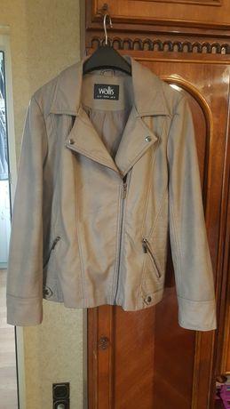 Куртка женская кожзам.