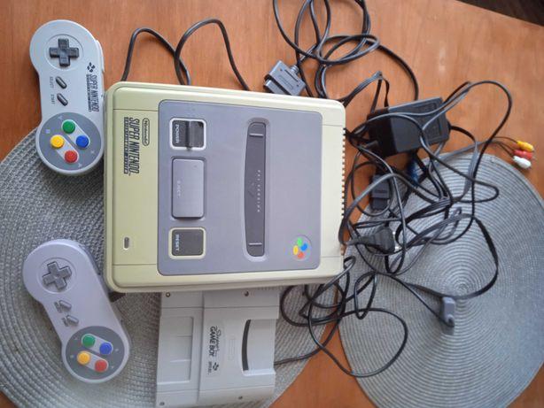 SNES Super Nintendo i Super Game Boy