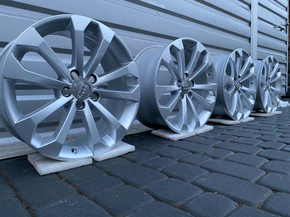 """FABRYCZNIE NOWE Oryginalne Felgi Audi 18"""" A3 A4 A5 A6 A8 Q3 Q5"""