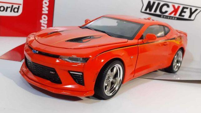 1/18  Chevrolet Camaro MCACN & NICKEY - AutoWorld