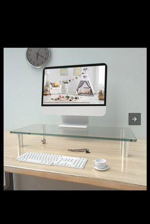 Podstawa pod monitor szklana