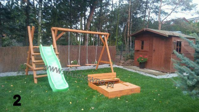 Huśtawka Ogrodowa Dziecięca Plac zabaw + ślizg, zjeżdżalnia PROMOCJA