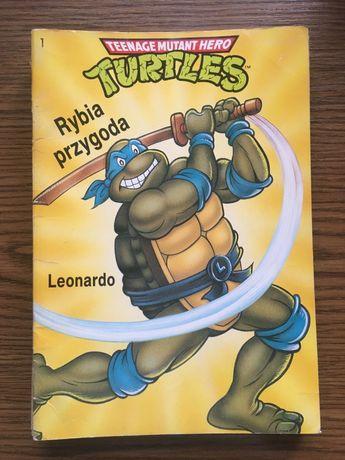 Wojownicze Żółwie Ninja cała seria z 1991 unikat!
