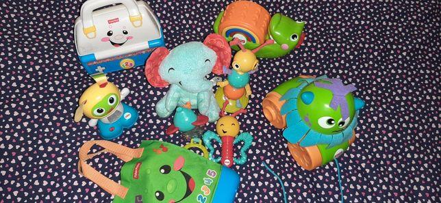 Fisher price mega zestaw zabawek