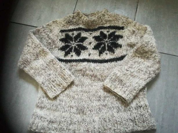 Sweter wełniany mały rozmiar