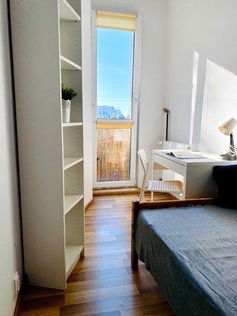 Przyjemny pokój dla studenta w zielonej okolicy, blisko UMED