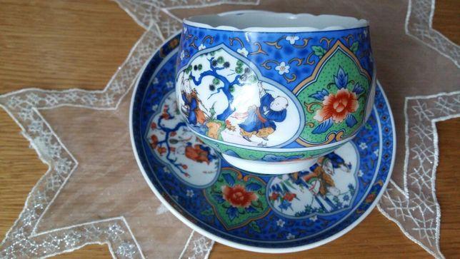 Filiżanka z podstawkiem,chińska porcelana
