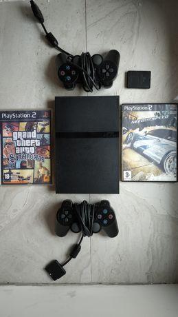 Sony Playstation 2 мега комплект