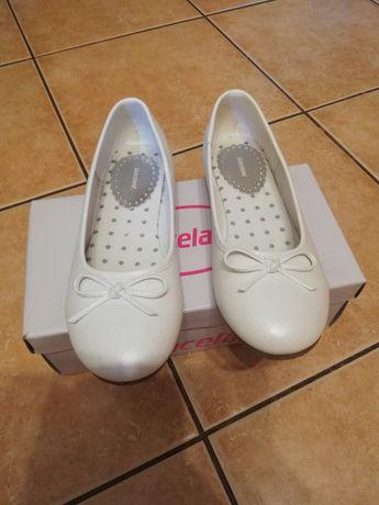 Sprzedam nowe baleriny białe rozmiar 36