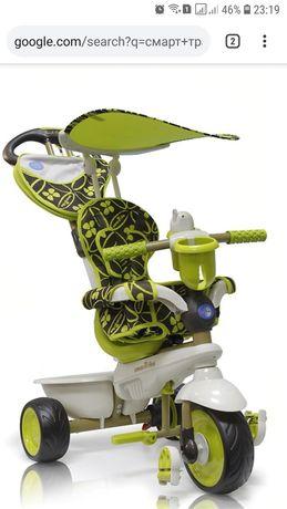 Велосипед Smart Trіke Dream 4в1 салатово-чорний ТОРГ