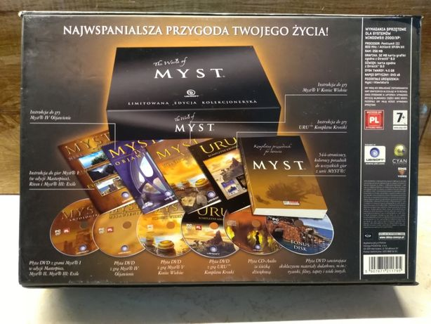 Gra PC The World of Myst edycja kolekcjonerska