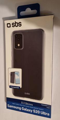 Capa SBS 0.3 Skinny SOFT SKIN - Samsung S20 Ultra