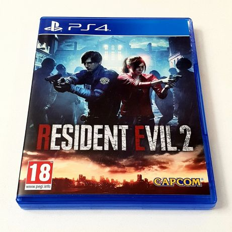 Gra Resident Evil 2 II PL PS4 PS5 Playstation 4 5 Remake RE2