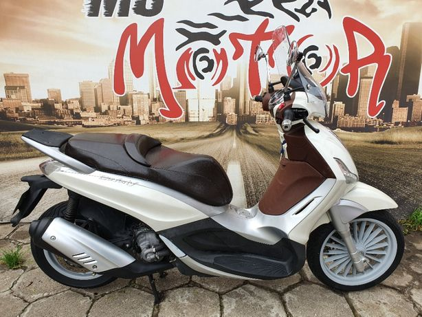 Piaggio Beverly 300 ie / LED / Maxiskuter / jak Burgman, Xmax