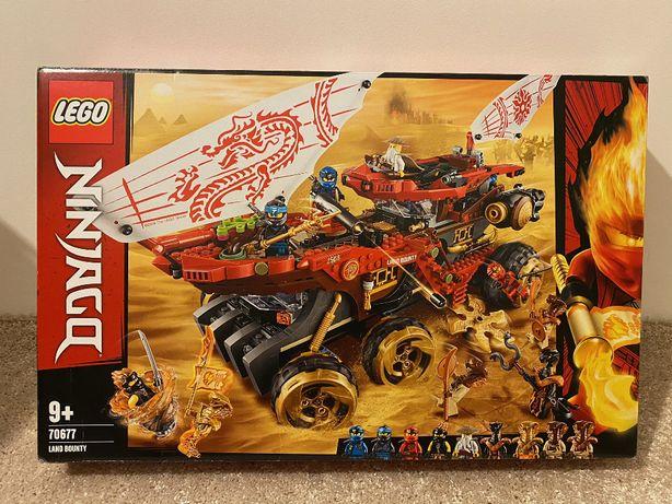 Lego Ninjago 70677 Perła Lądu Land Bounty - nieotwierany