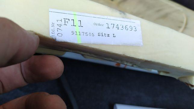 Pianka gąbka siedzisko fotel  BMW F01 F02 F04 F07 F10 F11