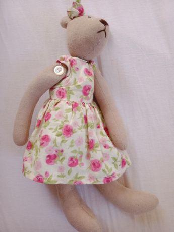 Pani Misiowa lalka dla dziewczynki hand made