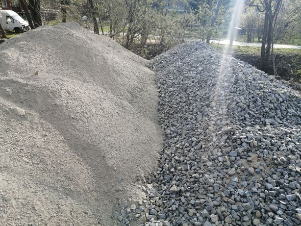 Pospolka Piasek GRANITOWE Tluczen kruszywa gruz ziemia pospola humus
