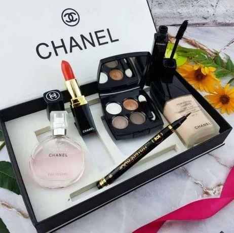 Подарунковий набір 6 в1 Chanel