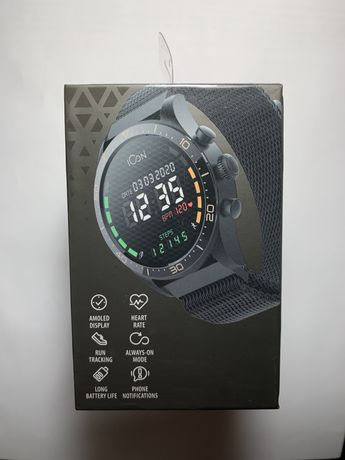 Смарт годинник Forever ICON AW-100 Black