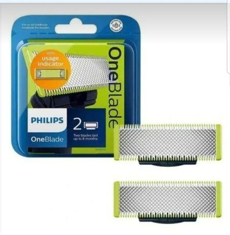 Philips OneBlade One Blade QP220/50 2x nowe ORYGINALNE ostrza wymienne