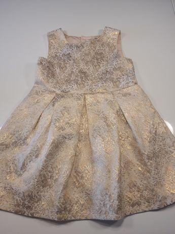 Piękna sukienka złota 18m /r.80