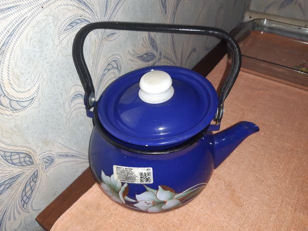 Чайник эмаль эмалированый
