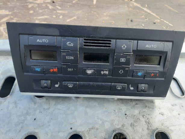 Klimatronik Audi a4 b6 8E0,820,043A Grzane fotele b7 WYSYŁKA