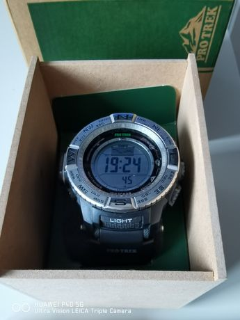 Zegarek CASIO Protrek PRW-3500-1ER stan b. dobry komplet na gwarancji