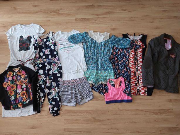 zestaw paka ubrań dla dziewczynki rozm 158