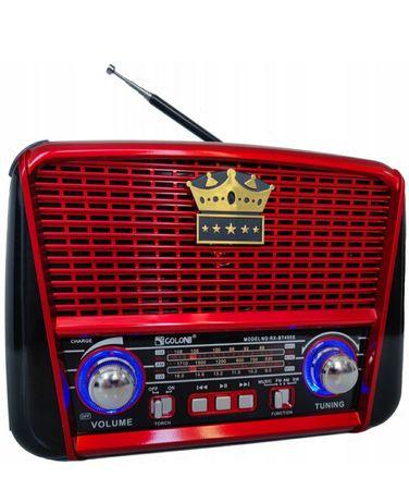 Radio z Panelem SOLARNYM z BLUETOOTH Bezprzewodowe