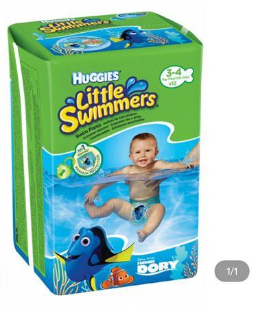 Трусики для плавання Huggies Little Swimmers розмір 3-4, 7-15 кг, 12 ш