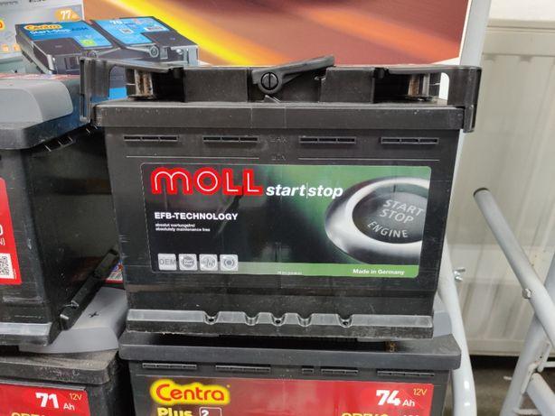 Akumulator Moll EFB Start-Stop 12V 60Ah 640A P+ Dowóz Kraków