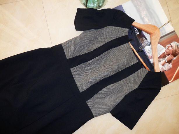 Стильне англійське плаття платье офісний стиль 46 Marks Spensers Hobbs