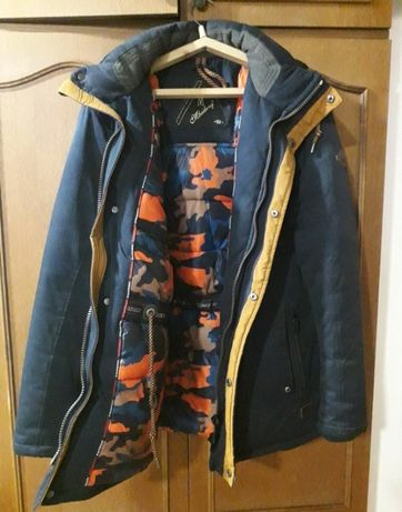 Куртка зимняя халафайбер.