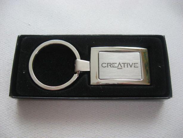 NOWY brelok breloczek do kluczy CREATIVE prawdziwa gratka kolekcjonera