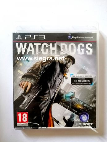 Watch Dogs Ps3 playstation3
