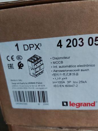 Wyłącznik mocy 100A 3P 25kA DPX3 250 indeks420305