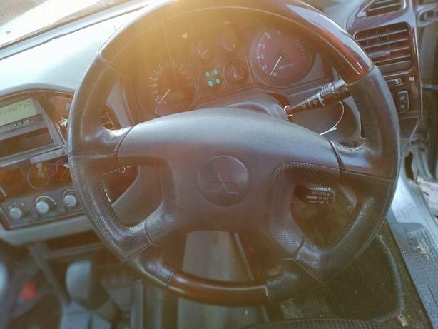 KIEROWNICA kompletna airbag przełączniki swiatel PAJERO 3